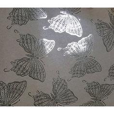 Крафт бумага Золотые бабочки для сувенирной продукции в листах Magic Time