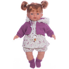 Кукла-пупс Llorens Алиса в белом платье, 33 см