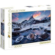"""Пазл Clementoni """"Северная красота Норвегии"""", 2000 элементов"""