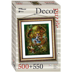 "Пазл Step Puzzle ""Алиса"", 500 элементов+рамка"