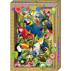 """Набор для изготовления картины """"Я люблю птичек"""" Клевер"""