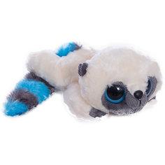 Мягкая игрушка Юху голубой лежачий, 16 см, Юху и друзья, AURORA