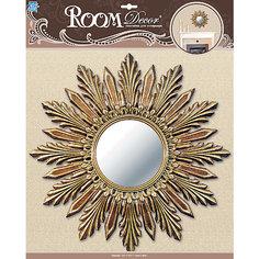 Декоративное зеркало большое № 1, Room Decor, золото