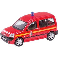 Коллекционная машинка Bburago Citroen Berlingo, 1:50