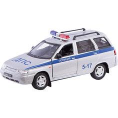 Коллекционная машинка Autotime Lada 111 Полиция, 1:36
