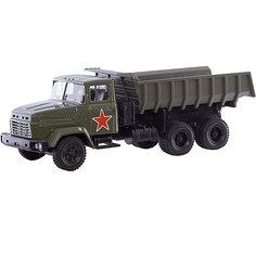 Коллекционная машинка Autotime KRAZ-6510 Армейский грузовик, 1:43