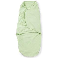 Конверт на липучке Swaddleme, размер S/M, зеленый Summer Infant