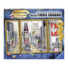 Раскрашивание по номерам «Таймс-сквер» Размер картинки – 80*50 см Ravensburger