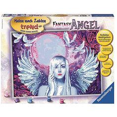 Раскрашивание по номерам «Фантастический ангел» - 30*40см Ravensburger
