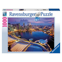 "Пазл ""Небоскребы Сингапура"" Ravensburger, 1000 деталей"