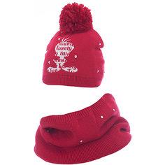 Комплект: шапка и шарф Original Marines для девочки