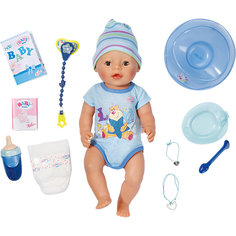 Интерактивная кукла-мальчик, 43 см, BABY born Zapf Creation