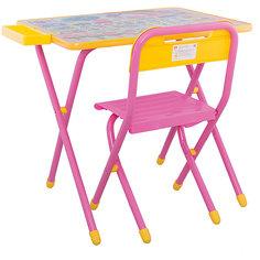 """Набор детской складной мебели """"Слоники"""", Дэми, розовый"""