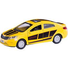 """Машинка Технопарк """"Kia Rio"""", 12 см"""