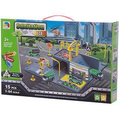 """Парковка Shantou Gepai """"Чистый город"""" 2 уровня"""