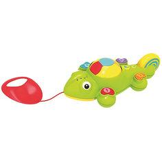 "Интерактивная игрушка 1Toy ""Kidz Delight"" Каталка хамелеон"