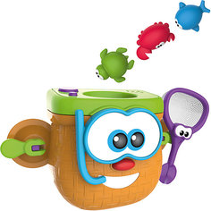 "Игрушка для ванны 1Toy ""Kidz Delight"" Корзина рыбака"