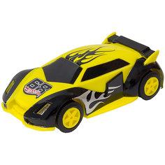 """Машинка для трэка Kidz Tech """"Hot Wheels"""", 1:43 (желто-черная)"""