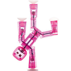 Игрушка-фигурка, розовая, Stikbot Zing