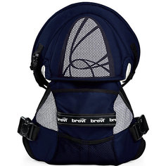 Рюкзачок для переноски детей Pod (015/239), Brevi, темно-синий