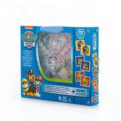Игра с кубиком, фишками и карточки Memory, Щенячий Патруль, Spin Master