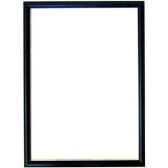 Рамка для пазла 1000/1500 деталей, 48х68 см, черная