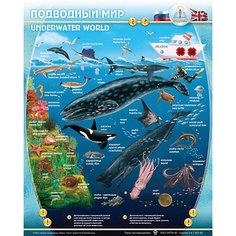 """Электронный звуковой плакат """"Подводный Мир"""" Знаток"""