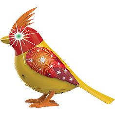 Птичка с мерцающими глазами, желто-красная, DigiBirds Silverlit