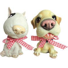 Сувенир Собачка большой нос 10 см Новогодняя сказка