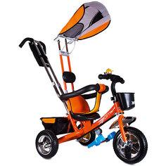 """Трехколесный велосипед """"Бронз Люкс"""", оранжевый, Zilmer"""