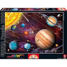 """Пазл """"Солнечная система"""" с неоновым свечением, 1000 деталей , Educa"""