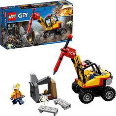 Конструктор LEGO City 60185: Трактор для горных работ