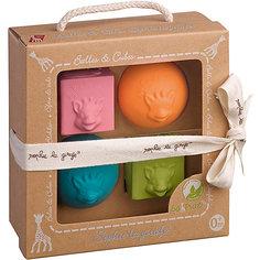 Игрушки в наборе: мячики, кубики, Vulli