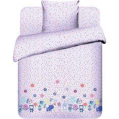 Детское постельное белье 1,5 сп. Василёк, Фотосессия, розовый