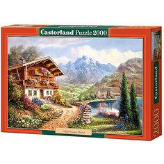 """Пазл Castorland """"Дом в горах"""" 2000 деталей"""