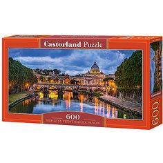 """Пазл Castorland """"Базилика Святого Петра"""" 600 деталей"""