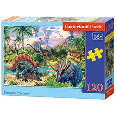 """Пазл Castorland """"Динозавры"""", 120 деталей"""