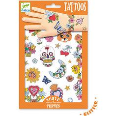 Татуировки Мексиканская фиеста, Djeco