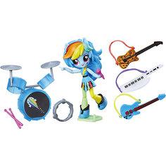 Набор с мини-куклой Equestria Girls, Музыкальный класс Рэйнбоу Дэш Hasbro
