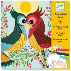 Набор для творчества Бумажный декор Птички, Djeco