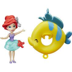 Кукла принцесса, плавающая на круге Ариэль, Принцессы Дисней, Hasbro