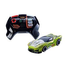 """Радиоуправляемая машинка Hot Wheels """"Умная трасса"""", зеленая Mattel"""