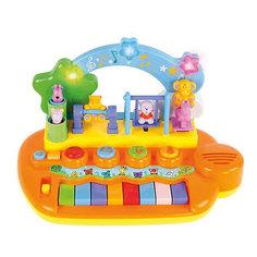 """Детское пианино Жирафики """"Парк развлечений"""" с животными, 14 мелодий"""