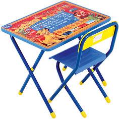 "Набор мебели ""Тимон и Пумба"" (2-5 лет), Король Лев, синий Дэми"