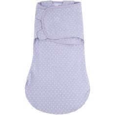 Конверт на липучке с двумя способами фиксации Wrap Sack, размер S/M, серый/звезды Summer Infant