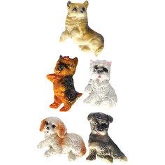 Сувенир магнит Собака 7 см Новогодняя сказка