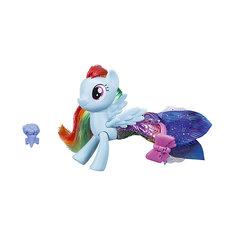 """Игровой набор Hasbro My little Pony """"Мерцание. Пони в волшебных платьях"""", Рэйнбоу Дэш"""