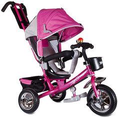 """Трехколесный велосипед """"Бронз Люкс"""", розовый, Zilmer"""