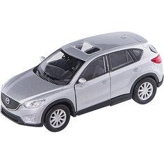 """Коллекционная машинка Welly """"Mazda CX-5"""", 1:34-39, серая"""