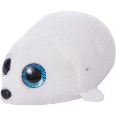Мягкая игрушка Abtoys Тюлень белый, 10 см